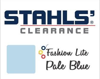 "9"" x 10 Yards - Stahls' Fashion Lite - Smooth - Craft Roll - Iron-on - Heat Transfer Vinyl - HTV - Pale Blue"