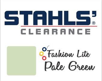 "12"" x 5 Yards - Stahls' Fashion Lite - Smooth - Craft Roll - Iron-on - Heat Transfer Vinyl - HTV - Pale Green"