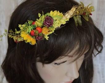 Wreath - Sunflower