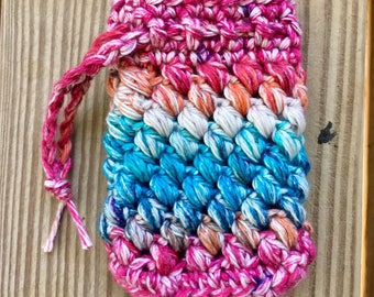 Crochet Soap Saver Pouch: Soap Sock, Soap Sack,