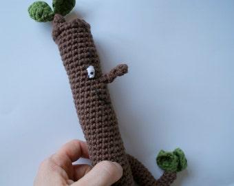 Crochet Stick Man; crochet toy;