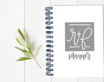 Rodan and Fields Distributor Direct Sales MLM Multi-Level Marketing Planner - One Year Fill in Calendar Notebook  - Monthly Weekly Team Gift