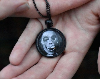 "Psycho ""Mother"" Pendant Necklace"