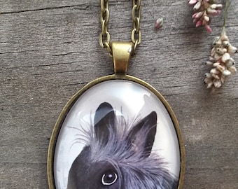 Custom-made animal necklace