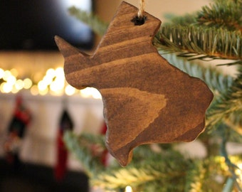Texas Ornament,Texas Christmas,Texas Decor,Rustic Home Decor,State Ornament,State Art,Christmas Ornaments,Farmhouse Christmas,Christmas Gift