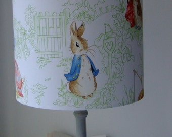 Beatrix Potter Nursery Tales - Handmade Nursery Lampshade