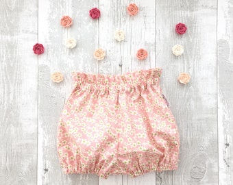 Baby girl bloomers, toddler bloomers, girl shorts, Baby bubble shorts Toddler bubble shorts Toddler bloomers Girls shorts UK