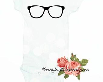 Nerd Baby Onesie-Nerd Glasses Baby Onesie-Nerd Onesie-Nerd Baby Outfit-Newborn Nerd Outfit-Nerd Glasses Baby Onesie-Nerd Alert-Gamer-Nerd