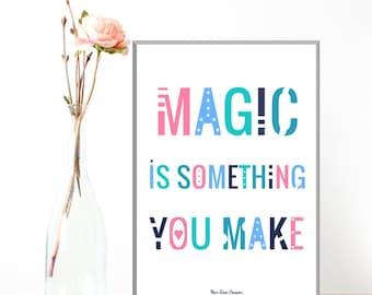 Children poster, Illustration children, Nursery decor, Disney, Bedroom wall decor, Nursery art, Illustration print, Gift idea, Art print