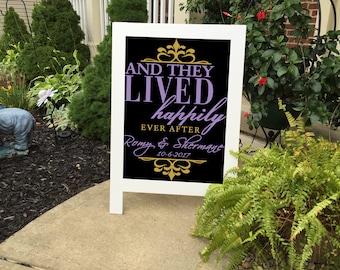 Wedding Sign - Wedding Signs - Rustic Wedding Signs - Wedding Chalkboard - Wedding Chalkboard Sign - Chalkboard Signs - Wedding Decor