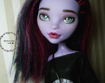 OOAK custom Monster High doll repaint Jane Boolittle