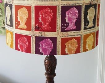 Stamp Drum Lampshade - handmade lamp shades in 3 sizes!