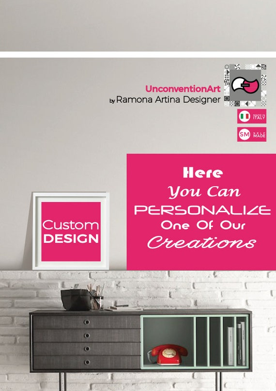 Custom Printable digital artworks  ~ BUY ONLY THIS ~ Follow the instructions