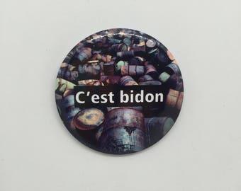 C'est bidon - Badge 50mm