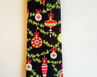 Retro Christmas Ornaments Necktie