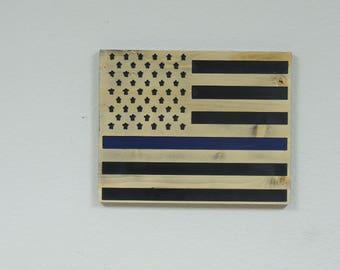 Blue Line Flag