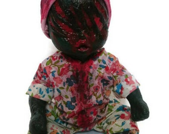 Creepy, Gory Zombaby Doll - Prunella