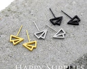 Nickel Free - High Quality Stainless Steel Stud Earring Post with Ear Studs Back Stopper (SEP015)