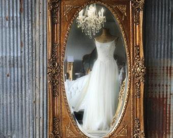 L E A N E R, Leaning Mirror, Floor Mirror, Shabby Chic DECOR