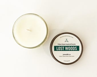 Lost Woods Gaming Candle