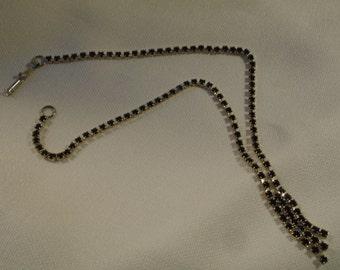 Black necklace (202)