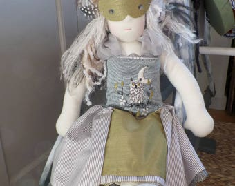 Ouelle, Waldorf style doll