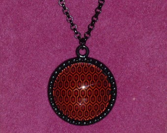 The Shining / The Overlook Hotel Inspired Black Cameo Necklace