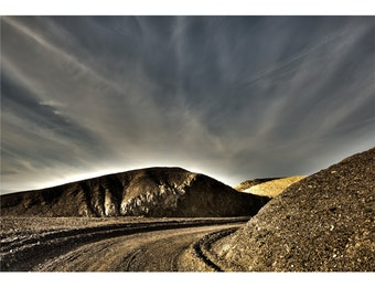 Orbit, Death Valley, Desert, Landscape, Travel, Giclée Print, Archival, Photograph, Color