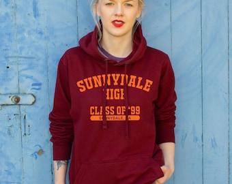 Sunnydale High Varsity Style Hoodie | Buffy the Vampire Slayer