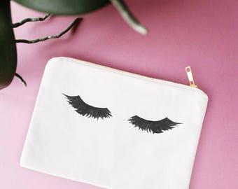 Eyelash Makeup Bag,Makeup Bag,Makeup Brush Holder, Makeup Pouch, Makeup Organizer,Make Up Bag,Makeup Storage,Makeup Pouch,Desk Accessories