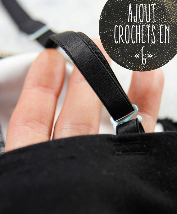 ADD G hooks to bra straps