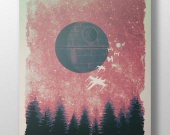Star Wars Rogue One Minimalist Poster