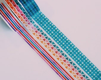 Geometric Washi Tape Basics