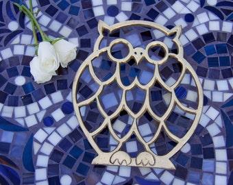 Decorative Vintage Owl Trivet