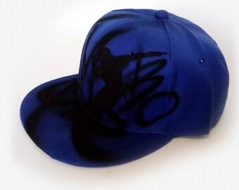 CUSTOM Snapback |Graffiti SNAPBACK |Graffiti cap |Painted Cap |Hip hop dancer snapback |Custom name cap |Men snapback |Kids snapback |Jambo