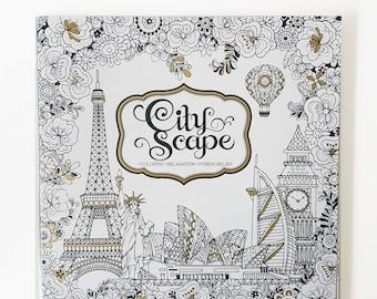 Coloring Book CityScape