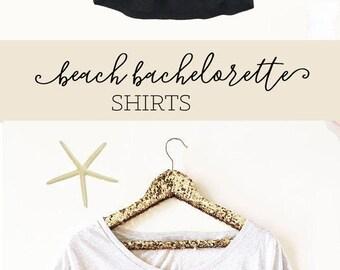 Last Sail Before the Veil Shirts - Bachelorette Shirts - Bachelorette Party Shirts - Beach Bachelorette Shirts (EB3202CT) Dolman Style