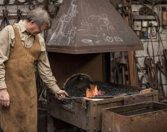 Two day 'learn to blacksmith' course with Aaron Petersen of Ferric Fusion Ironwork
