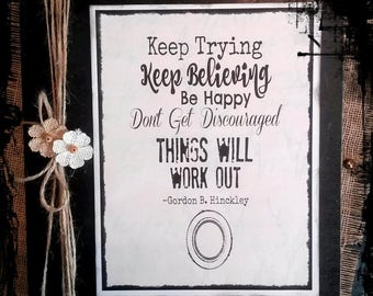Keep Trying~Keep Believing