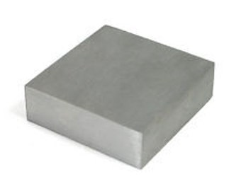 "Steel Bench Block  2.5 X 2.5 X .75"" Beadsmith / Small Bench Block"