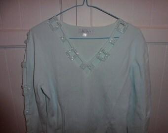 LEO GUY sweater size L/XL (40-42 en) - 1990s