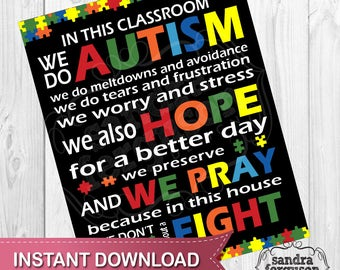 autism in the classroom pdf