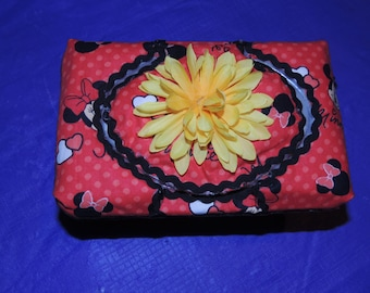 Large Minnie Mouse Baby Wipe Case