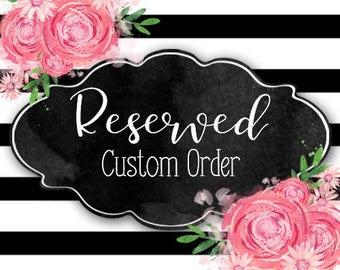 jrsgr88stfan Reserved Custom Order