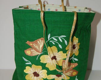 Fabric Gift Bag - Embroided