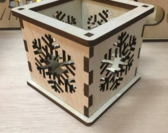 Snowflake - Tea Light Holder