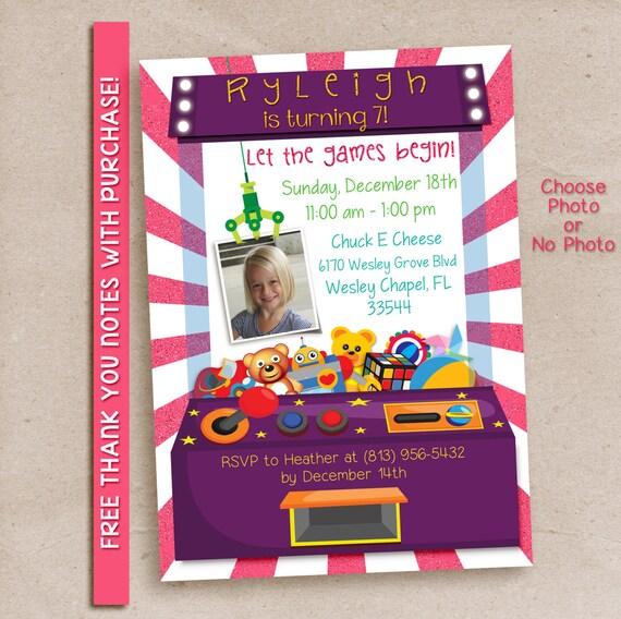 Arcade party invitation, arcade invitation, arcade party, arcade birthday, printable invitation