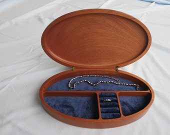 Jewellery Box made from Sapele