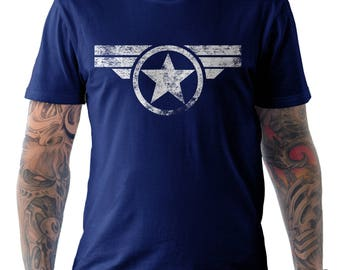 Captain America Marvel Comics Steve Rodgers T Shirt
