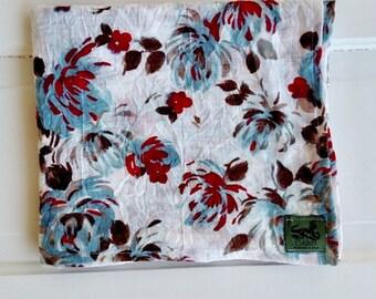 Swaddle blanket- baby blanket- baby girl blanket - baby swaddle blanket - floral baby blanket- nursing cover up